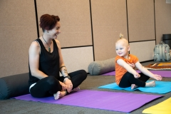 Earth Mother Yoga mum toddler yoga classes