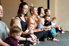 Earth Mother Yoga mum children meditating