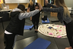 Partner Yoga in secondary school