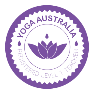 Nic Russell is a Registered Level 1 Teacher with Yoga Australia
