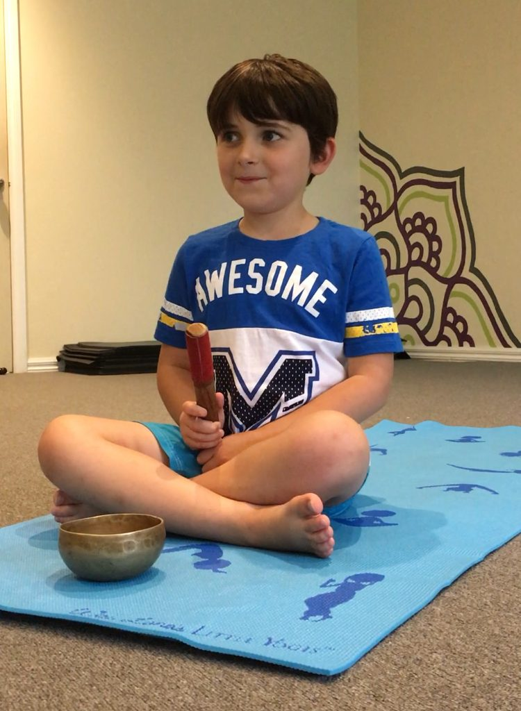 Kids yoga and meditation